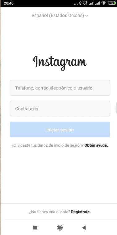 crear cuenta de instagram