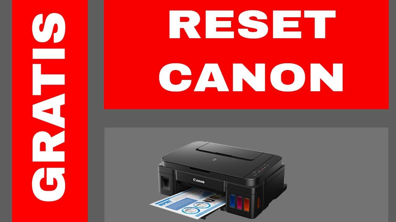 RESET CANON ST4905 (solución al error 5B00)