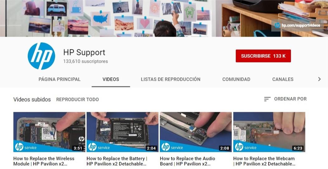¿Qué le paso a HP?, empresa estadounidense publica videos de Soporte Tecnico en su canal de Youtube