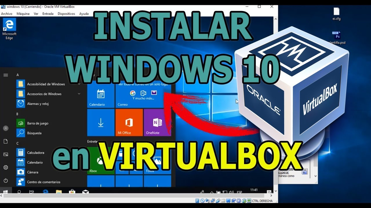 COMO INSTALAR WINDOWS 10 CON VIRTUAL BOX