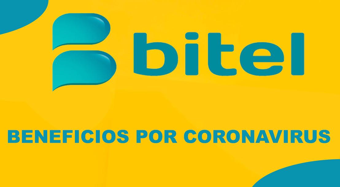 Beneficios de Bitel para Usuarios por Cuarentena