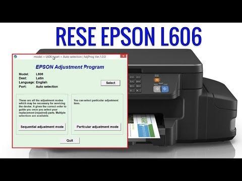 Reset Epson L606 – Adiós error de Almohadillas