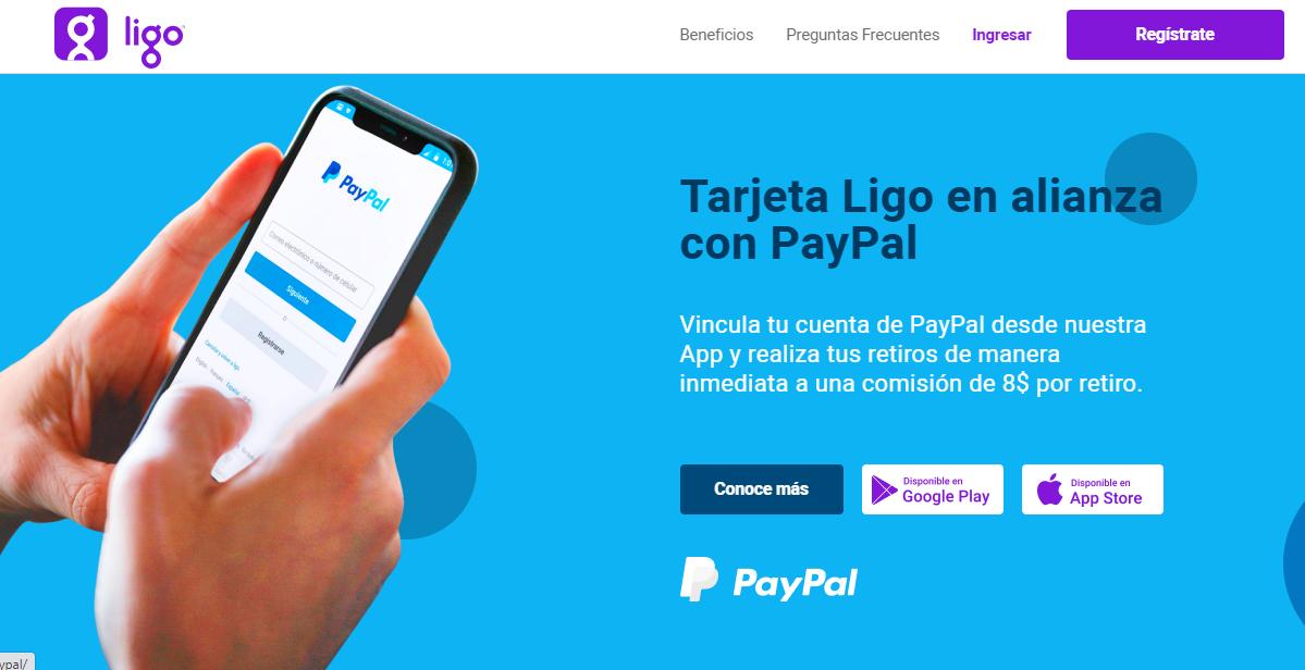 Como Retirar DINERO de PAYPAL con LIGO (PERÚ) |Sin Interbank