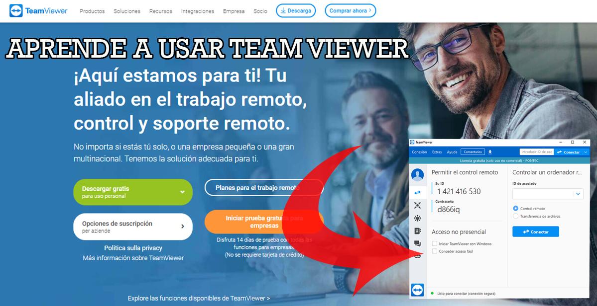 Que es TeamViwer y para qué sirve