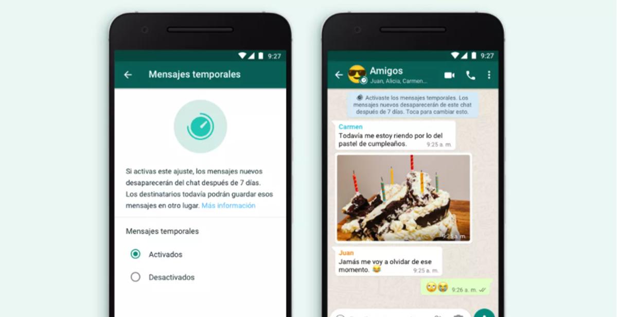 Aprende enviar mensajes en WhatsApp y que se Autodestruyan