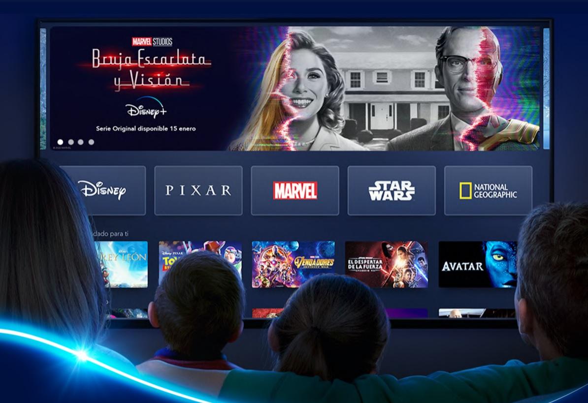 Disney+ estas son las nuevas películas  por Febrero