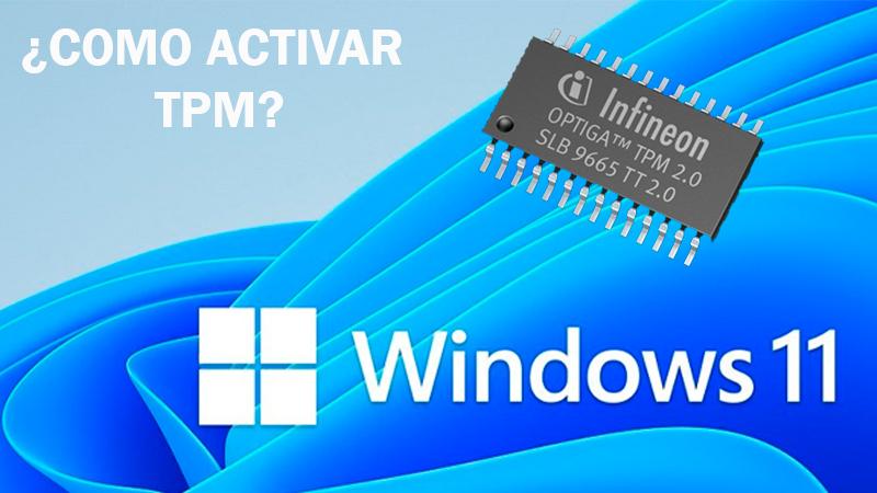 Como activar TPM desde tu BIOS para Windows 11