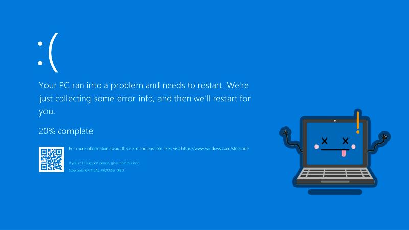 Ya no habría pantalla Azul en windows 11